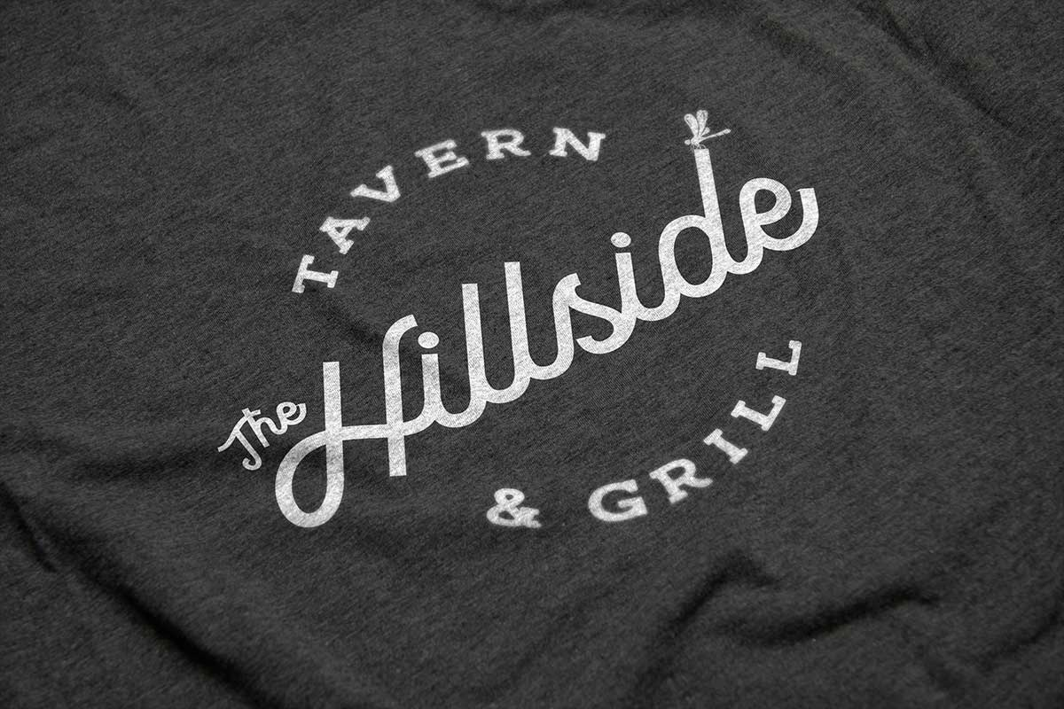 Hillside Restaurant T-Shirt Design