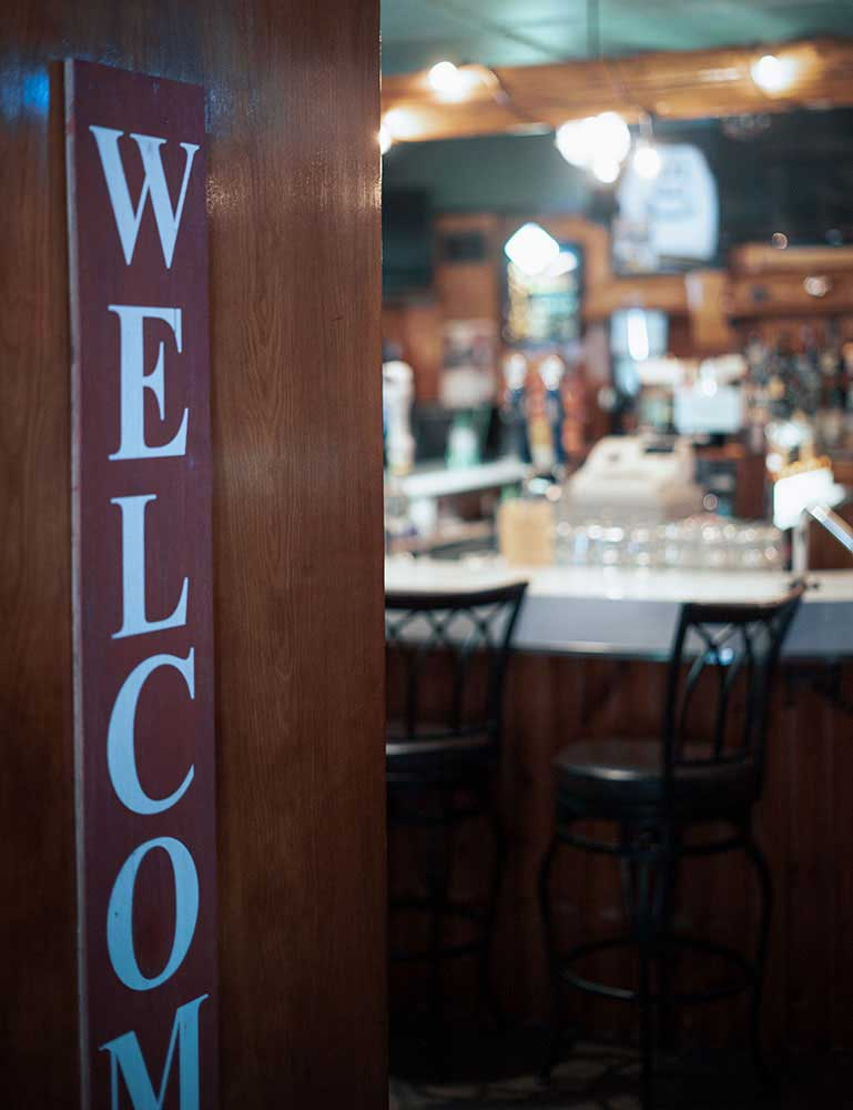 Restaurant Photo of Welcome Sign
