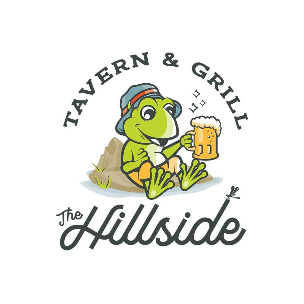 The Hillside Restaurant Logo Design