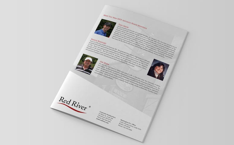 Red River, Claremont, NH Annual Report Design